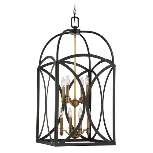 Savoy House Savoy House Lighting Talbot English Bronze / Warm Brass Pendant Light 3-4082-8-79