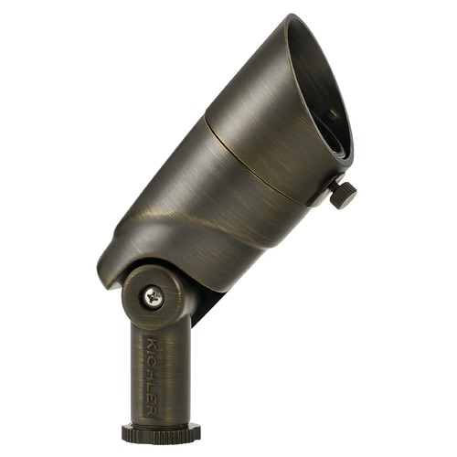 Kichler Lighting Kichler Lighting Landscape LED Centennial Brass LED Flood - Spot Light 16016CBR27