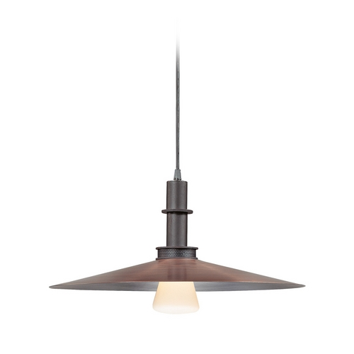 Sonneman Lighting Modern Pendant Light in Textured Rustic Bronze Finish 4901.36