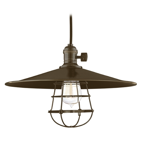 Hudson Valley Lighting Pendant Light in Old Bronze Finish 8001-OB-MM1-WG