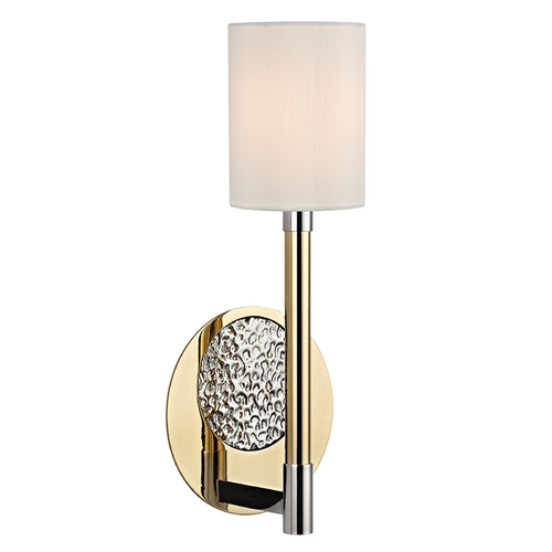 Hudson Valley Lighting Hudson Valley Lighting Burbank Polished Brass/nickel Sconce 1211-PBN