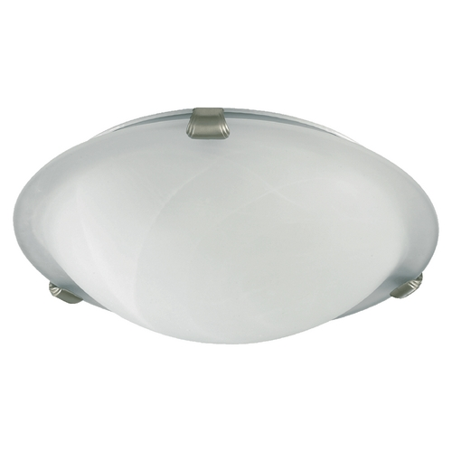 Quorum Lighting Quorum Lighting Satin Nickel Flushmount Light 3000-16-65