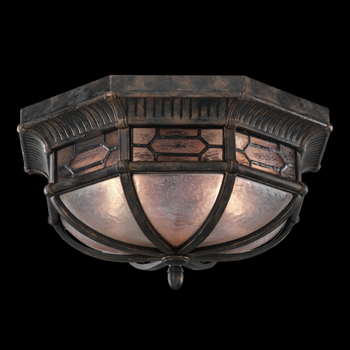 Fine Art Lamps Fine Art Lamps Devonshire Antiqued Bronze Close To Ceiling Light 414882ST