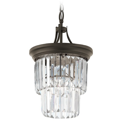 Kichler Lighting Kichler Lighting Emile Olde Bronze Pendant Light 43748OZ
