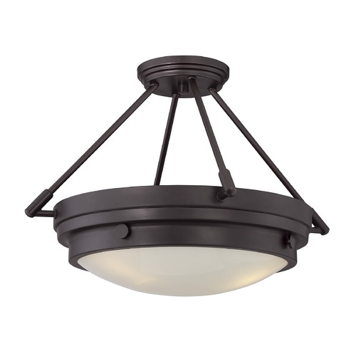 Savoy House Savoy House Lighting Lucerne English Bronze Semi-Flushmount Light 6-3351-3-13