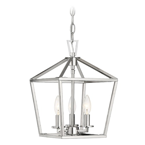 Savoy House Savoy House Lighting Townsend Polished Nickel Pendant Light 3-320-3-109