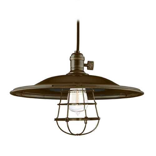 Hudson Valley Lighting Pendant Light in Old Bronze Finish 8001-OB-MM2-WG