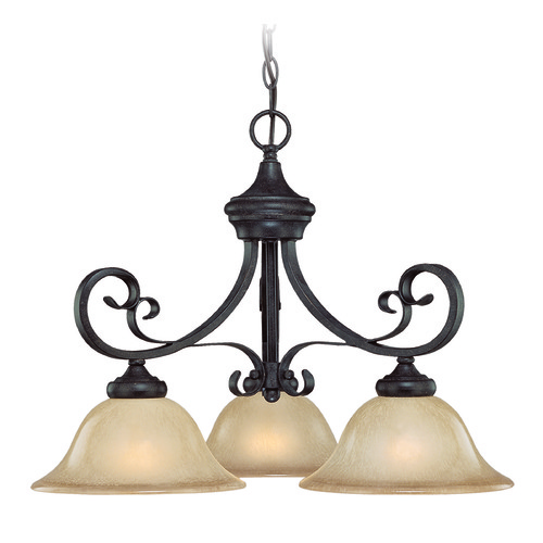 Jeremiah Lighting Jeremiah Stanton English Toffee Chandelier 25123-ET
