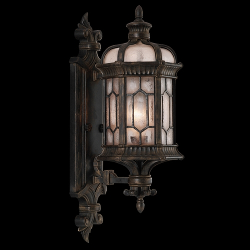Fine Art Lamps Fine Art Lamps Devonshire Antiqued Bronze Outdoor Wall Light 413781ST