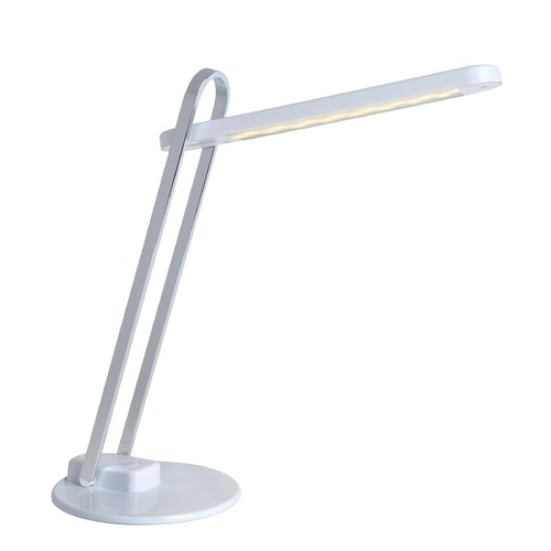 Lite Source Lighting Lite Source Java White LED Swing Arm Lamp LS-22695WHT