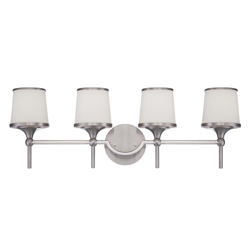 Savoy House Savoy House Satin Nickel Bathroom Light 8-4385-4-SN