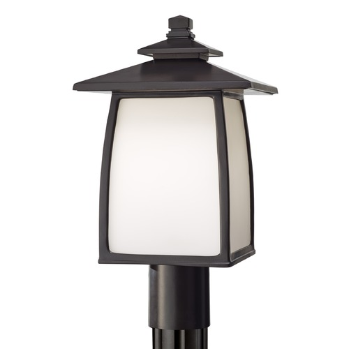 Feiss Lighting Feiss Lighting Wright House Oil Rubbed Bronze LED Post Light OL8508ORB-LED