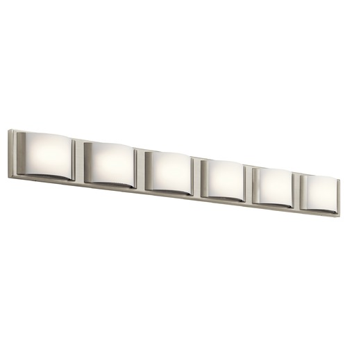 Elan Lighting Elan Lighting Bretto Brused Nickel LED Bathroom Light 83887