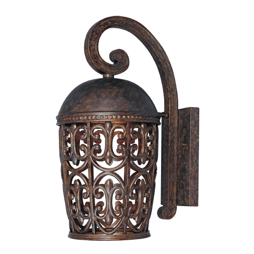 Designers Fountain Lighting Outdoor Wall Light in Burnt Umber Finish 97592-BU