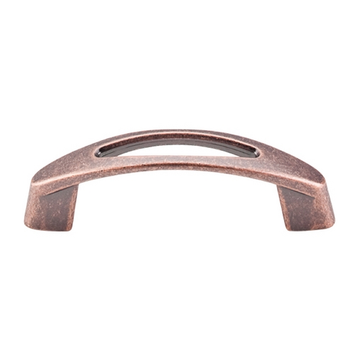 Top Knobs Hardware Modern Cabinet Pull in Antique Copper Finish M1768