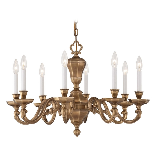 Metropolitan Lighting Chandelier in Vintage English Patina Finish N1115-046