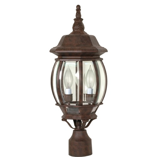 Nuvo Lighting Nuvo Lighting Central Park Old Bronze Post Light 60/898