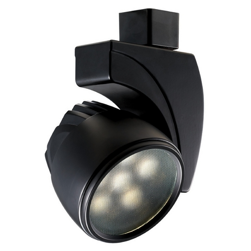 WAC Lighting Wac Lighting Black LED Track Light Head L-LED18F-WW-BK