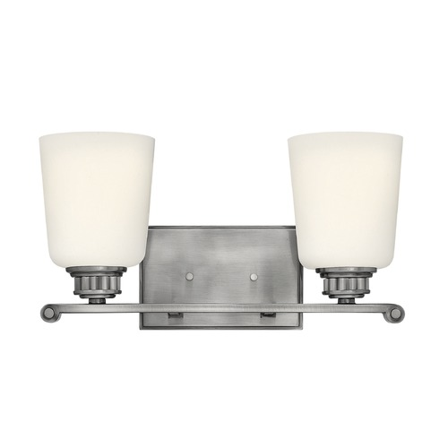 Hinkley Lighting Hinkley Lighting Annette Polished Antique Nickel Bathroom Light 53322PL