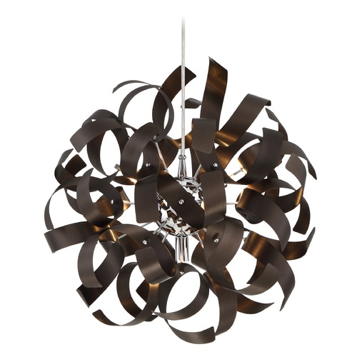 Quoizel Lighting Quoizel Ribbons Western Bronze Pendant Light RBN2817WT
