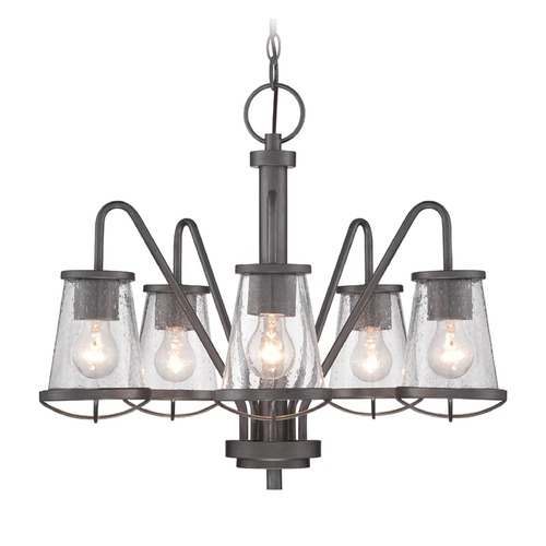 Designers Fountain Lighting Designers Fountain Darby Weathered Iron Chandelier 87085-WI