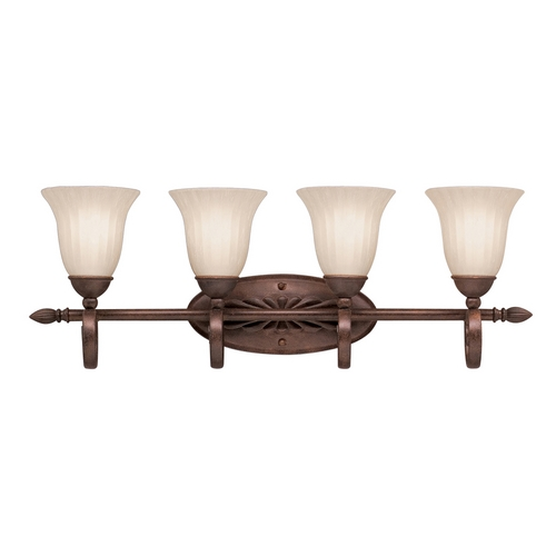 Kichler Lighting Kichler Bathroom Light in Tannery Bronze Finish 5929TZ