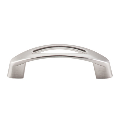 Top Knobs Hardware Modern Cabinet Pull in Brushed Satin Nickel Finish M1769