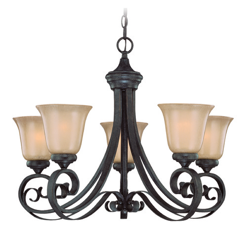 Jeremiah Lighting Jeremiah Stanton English Toffee Chandelier 25125-ET