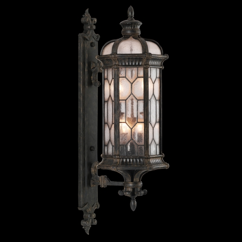 Fine Art Lamps Fine Art Lamps Devonshire Antiqued Bronze Outdoor Wall Light 413981ST
