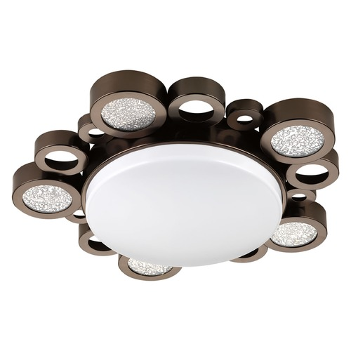 Progress Lighting Progress Lighting Bingo Venetian Bronze LED Flushmount Light P3756-7430K9