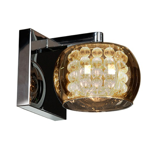 Access Lighting Mid-Century Modern Sconce Chrome Glam by Access Lighting 52111-CH/MIR