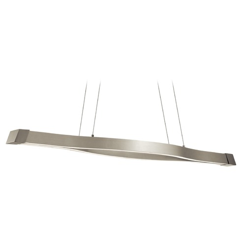 Elan Lighting Elan Lighting Nya Satin Nickel LED Island Light 83718