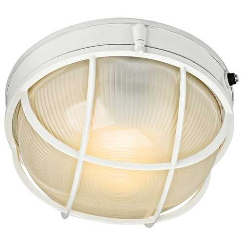 Kichler Lighting Kichler Outdoor Wall Light with White Glass in White Finish 10622WH