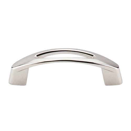 Top Knobs Hardware Modern Cabinet Pull in Polished Nickel Finish M1770