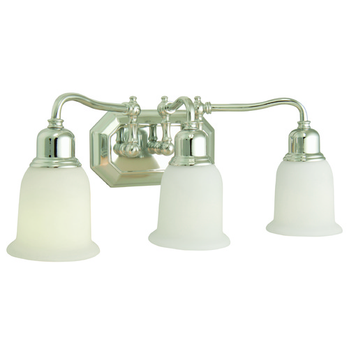 Jeremiah Lighting Jeremiah Heritage Chrome Bathroom Light 15819CH3