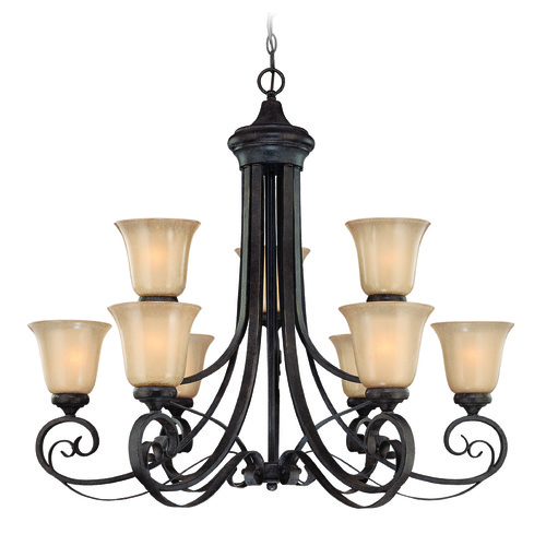 Jeremiah Lighting Jeremiah Stanton English Toffee Chandelier 25129-ET