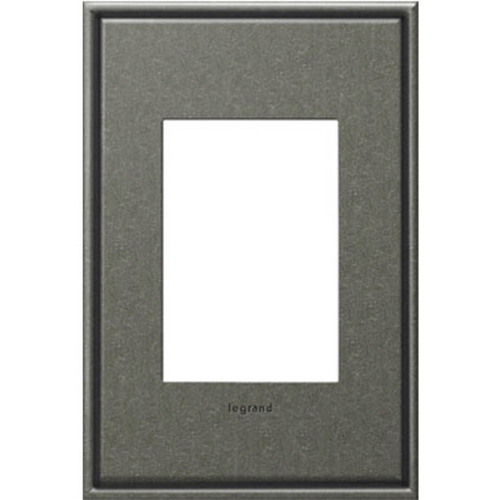Legrand Adorne Legrand Adorne Dark Burnished Pewter 1-Gang 3-Module Switch Plate AWC1G3DP4