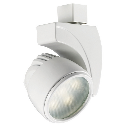 WAC Lighting Wac Lighting White LED Track Light Head L-LED18F-WW-WT