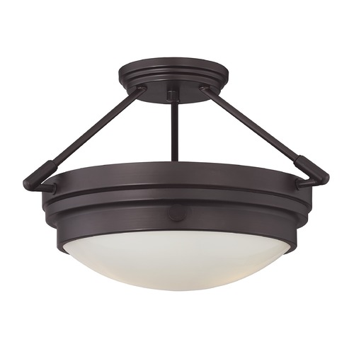 Savoy House Savoy House Lighting Lucerne English Bronze Semi-Flushmount Light 6-3352-2-13