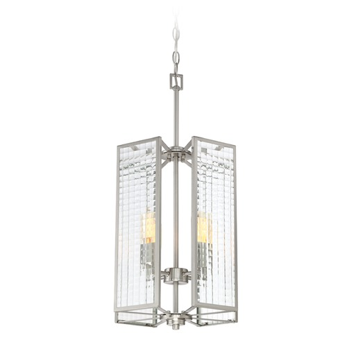 Designers Fountain Lighting Designers Fountain Pivot Satin Platinum Pendant Light 88854-SP