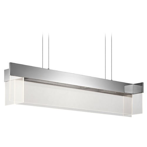 Elan Lighting Elan Lighting Geo Chrome LED Island Light 83733