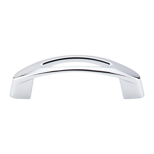 Top Knobs Hardware Modern Cabinet Pull in Polished Chrome Finish M1771