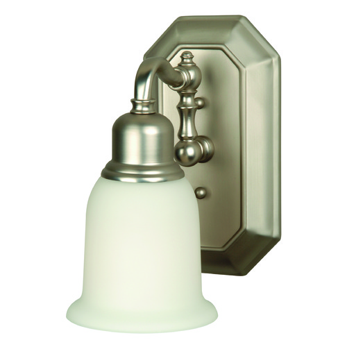 Craftmade Lighting Craftmade Heritage Brushed Satin Nickel Sconce 15805BN1