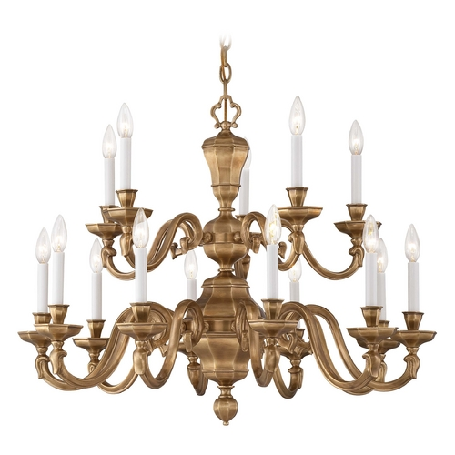 Metropolitan Lighting Chandelier in Vintage English Patina Finish N1117-046