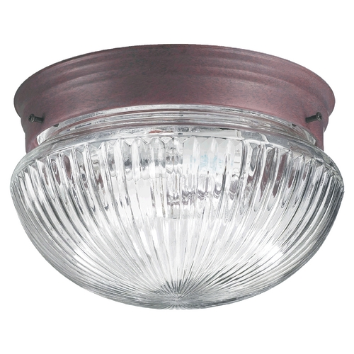 Quorum Lighting Quorum Lighting Cobblestone Flushmount Light 3012-8-33