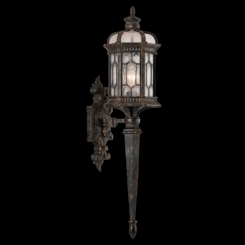 Fine Art Lamps Fine Art Lamps Devonshire Antiqued Bronze Outdoor Wall Light 414681ST