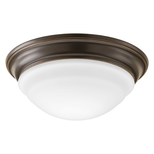Progress Lighting Progress Lighting LED Flush Mount Antique Bronze LED Flushmount Light P2300-2030K9