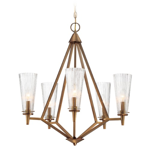 Designers Fountain Lighting Designers Fountain Montelena Old Satin Brass Chandelier 88985-OSB