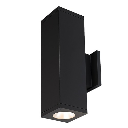 WAC Lighting Wac Lighting Cube Arch Black LED Outdoor Wall Light DC-WD06-F827C-BK