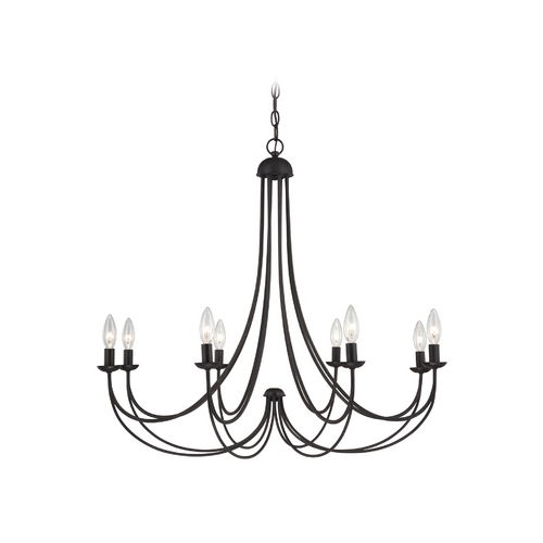 Quoizel Lighting Chandelier in Imperial Bronze Finish MRN5008IB